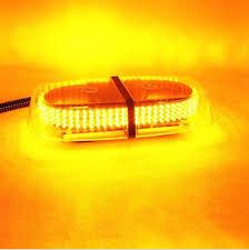magnetic base strobe light 240 led amber emergency hazard warning led mini bar strobe light w