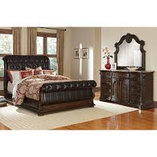 classy cotswold linen tufted sleigh bed model with scroll