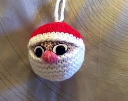 knitted ornament etsy
