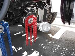 best light truck tire chains insta chain automatic snow chains for trucks youtube
