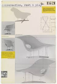 Modern Furniture Design Drawings Charles Eames Ray Eames Entry Panel For Moma International