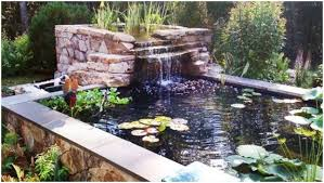 Homemade Backyard Waterfalls by Backyards Excellent Build A Backyard Pond And Waterfall 49