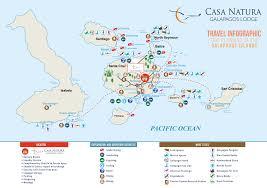 Galapagos Map Galapagos Hotel Casa Natura Galapagos Tours Galapagos Diving