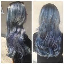 Gray Blue Color - icy gray blue hair hair colors ideas