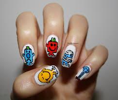 mr men nails