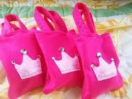 princess candy bags dulceros de fieltro bolsas dulceros ideas para and