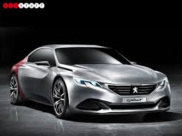 peugeot concept car peugeot exalt concept car is made from synthetic shark skin and
