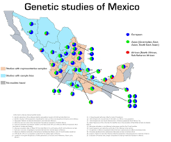 Zacatecas Mexico Map by Genetics Of Mexico And Other Curiosities
