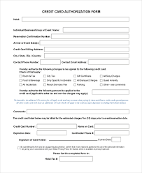 sample authorization forms 16 free documents in word pdf