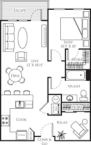 Dog Grooming Salon Floor Plans Red160 Apartments In Downtown Redmond 16095 Cleveland Street