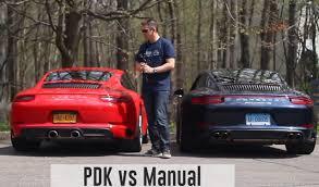 porsche 911 turbo s manual transmission porsche 911 pdk vs manual transmission