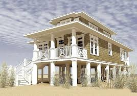 narrow waterfront house plans small elevated beach house plans with pilings outstanding on stilts