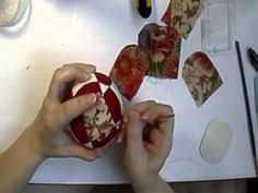 quilted ornament tutorial useful hint put pin