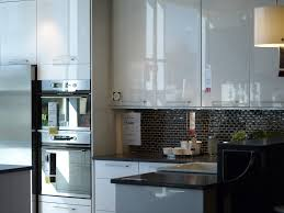 Kitchen Style Inspiring Kitchen Design White Cabinets Black