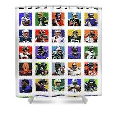 Nfl Shower Curtains Design Nfl Shower Curtain Valuable Newton Curtains