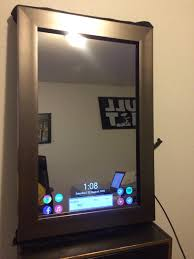 i too built a magic mirror raspberry pi