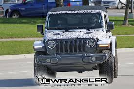 jeep wrangler front grill spied wrangler 2 door jl rubicon soft top and export jl sport