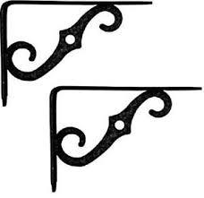 2 ea national mfg n229 393 5 x 3 1 2 ornamental black metal