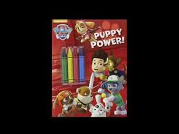 puppy power paw patrol color chunky crayons