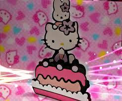 hello kitty birthday card youtube