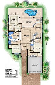 3 bedroom narrow house plan home beauty