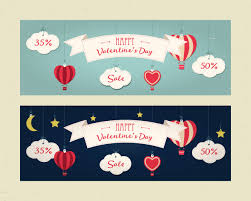 sale header or banner set with discount offer for happy