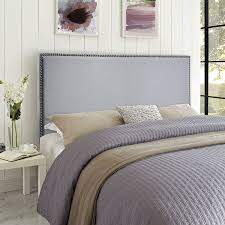 amazon com modway region upholstered linen headboard queen size