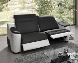 canapé relaxation electrique meubles atlas canape 3 places avec 2 relax electrique helly