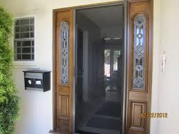 door wonderful retractable screen doors for home exterior design