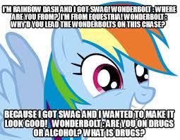 Rainbow Dash Meme - meme creator rainbow dash meme generator at memecreator org