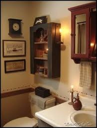 primitive decorating ideas for bathroom 4u photo primitives wreath mirror