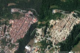 Italy Earthquake Map by Earthquake In Italy Satellite Imagery And Maps Of Damaged Areas