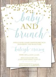 brunch invitation ideas brunch baby shower invitations 1185