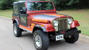 orange jeep cj jeep cj classics for sale classics on autotrader