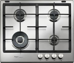 whirpool piani cottura piano cottura whirlpool gas 4 fuochi 60 cm gmf 6422 ixl serie