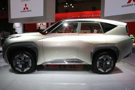 mitsubishi concept xr phev mitsubishi teases suv concepts ahead of tokyo motor show