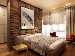 Accent Walls In Bedroom by Cool Wood Accent Wall Interior Design Ideas