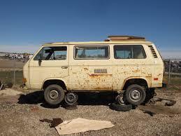 volkswagen van interior junkyard find 1981 volkswagen vanagon westfalia camper type p22