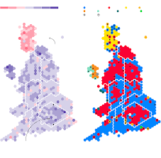 Uk Election Map by How Theresa May U0027s Snap Election Delivered Britain A Hung Parliament