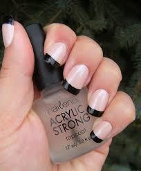deez nailz black tips french manicure week deez nailz