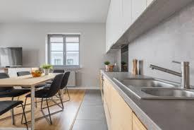 beton ciré cuisine plan travail plan de travail en béton ciré critères de choix et prix ooreka