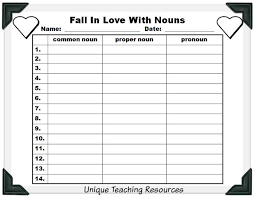 nouns lesson plans fun activities to review nouns with your students