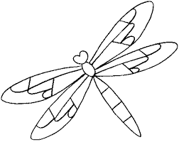 printable dragonfly stencils dragonfly coloring pages getcoloringpages com