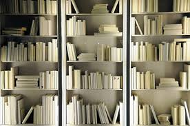 White Bookcase With Storage Save The Books How To Style A Bookshelf For Actual Book Storage