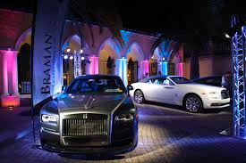 purple rolls royce a spectacular evening with rolls royce palm beach palm beach