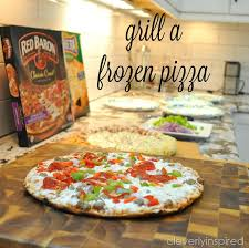 table 87 frozen pizza how to grill a frozen pizza cleverly inspired