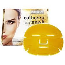 Collagen Mask 5 x premium gold bio collagen mask anti ageing skin