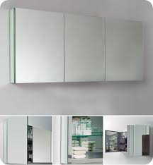 Tri Fold Bathroom Mirror by Epic Three Mirror Medicine Cabinet 48 In Tri Fold Medicine Cabinet