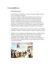 vestimenta de sereno de 1810 costumbres y vestimentas de antes y ahora agustina ocos