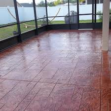Photos Of Stamped Concrete Patios by Rubberdek Com U003e Photo Gallery U003e Stamped Concrete U003e Patio